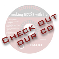 "Check out our CD ""Making Tracks with the S-Bahn"""